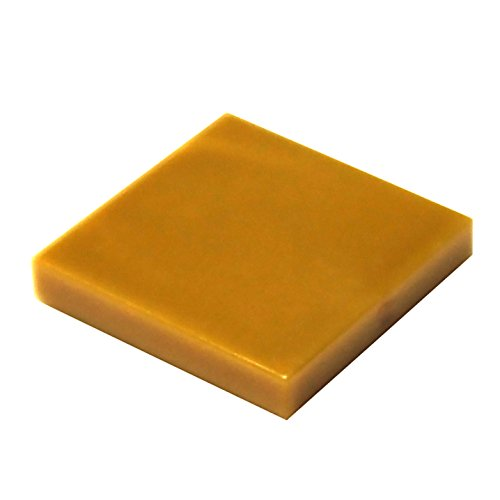 LEGO Parts and Pieces: Pearl Gold (Warm Gold) 2x2 Tile x100