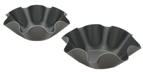 Chicago Metallic Non-Stick Large Tortilla Shell Pans, Set of 2 ()