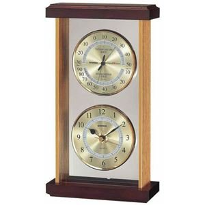 EMPEX スーパーEX 温湿度時計 EX-742 ゴールド   B07PJNBBZ8