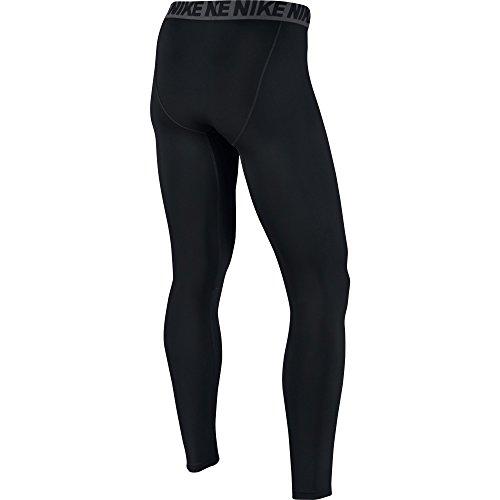 NIKE Men's Base Layer Training Tights, Black/Dark Grey/White, Medium by Nike (Image #2)