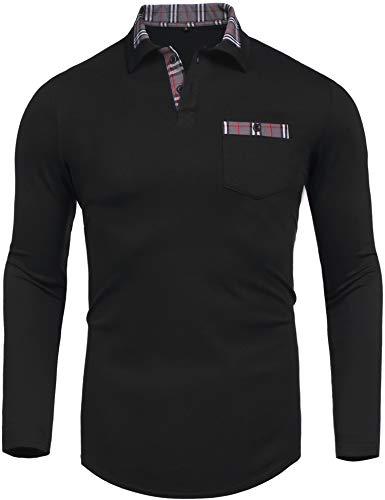 Daupanzees Men's Polo Shirt Classic Casu...