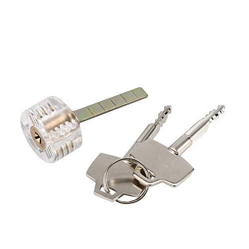 Verrouillage de coupe en coupe transparente Transparent Serrures de serrures pour porte tiroir armoire choisir ensemble comp/étences de formation pour la pratique de serrurier