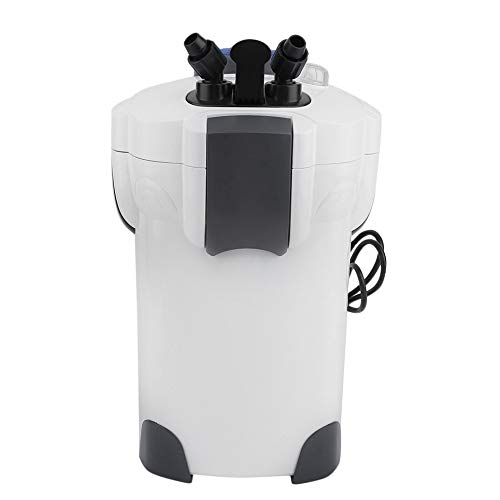Simoner Fish Tank External Canister Filter, Ultra-Quiet Aquarium 3-Stage Filtration for Fresh Sea Water 200 Gallon