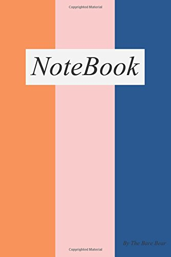 """Read Online Three Colorful Vertical Pattern Unlined 100 pages Blank Notebook (6""""x9"""") Type 23: 6 x 9 inches unlined 100 Pages with glossy cover (idea / design / sketch / drawing / Notebook / note ) PDF"""