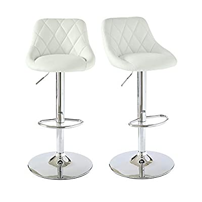 Picket House Furnishings Baltimore Adjustable Swivel Bar Stool Set