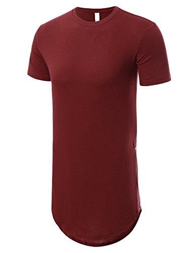JD Apparel Hipster T shirt Zipper