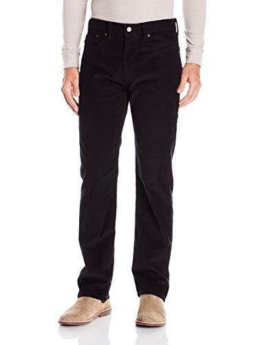 Levis Cords - Levi's Men's 505 Regular Fit Jean, Black Cord 33W x 34L