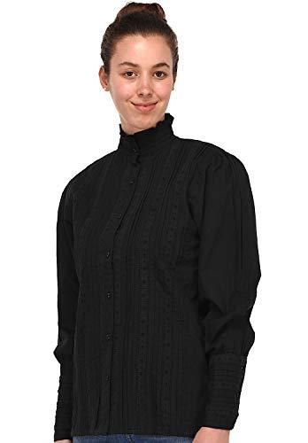 Cotton Mujer Para Larga Manga Lane Camisas rRXwgfrq