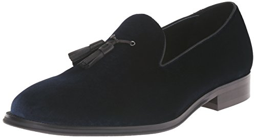 Blue Steve Slip On Velvet Madden Men's Loafer Bway zgwaTqY