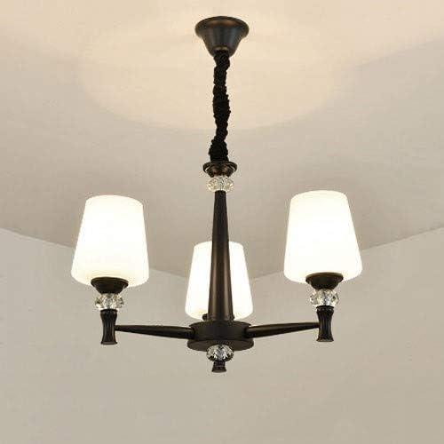 Hurffue Modern American rústicas colgadas simple lámpara con ...