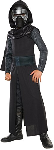 Sith Robe Hooded Costumes (Star Wars: The Force Awakens Child's Kylo Ren Costume, Medium)