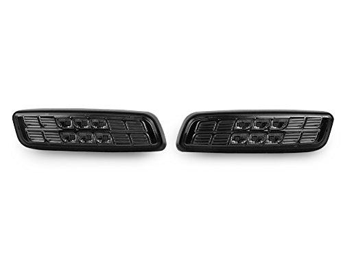 312 Ultra Flush - DEPO 2001-2005 Lexus IS300 & 2004-2007 Scion xA Smoke Amber LED Bumper Side Marker Light