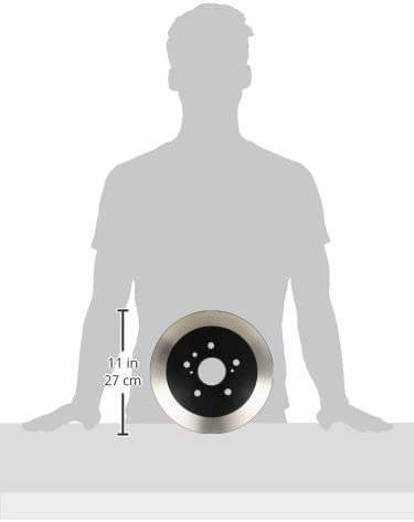 Wagner BD126186E Premium E-Coated Brake Rotor