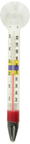 Marina Deluxe Floating Thermometer with Suction Cup by Marina