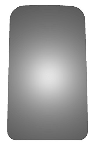 Burco 4509 Driver or Passenger Upper Replacement Mirror Glass for 2003-2009 Chevy Kodiak, 2003-2009 GMC Topkick