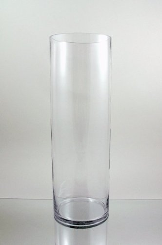 Amazon Wgvi Clear Large Tall Cylinder Glass Vasecandle Holder