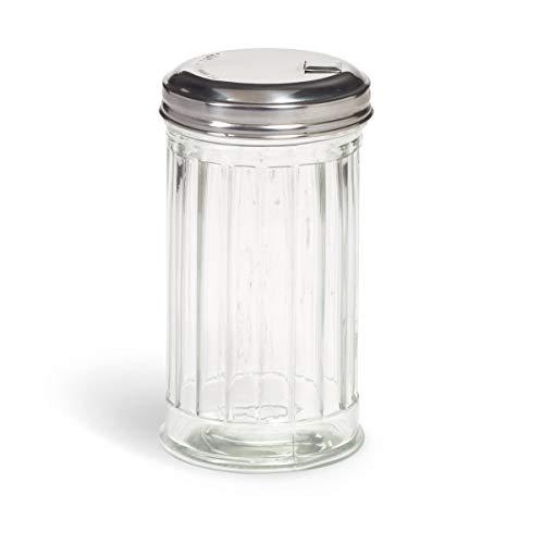 (Modern Retro Glass Sugar Dispenser - 10)