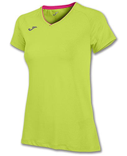 JOMA T-SHIRT FREE LIME S/S XS