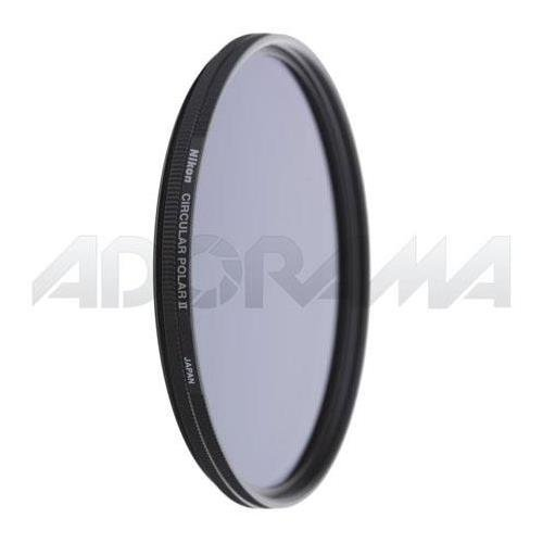 Nikon 55mm Circular Polarizer II Thin Ring Multi-Coated Glass Filter