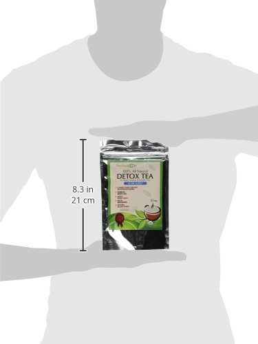 Teatox Life: Skinny mint tea for organic colon detox, promote 14 or 28 day weight loss, liver cleanse and digestion | Made in USA| USDA Certified