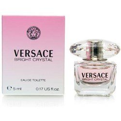 Bright Crystal By Gianni Versace For Women. Miniature Eau De Toilette 5 Ml. (0.17 Cologne Miniature Ounce)