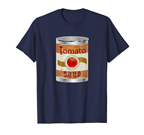 Big Can of Tomato Soup Comfort Food Graphic T-Shirt (Costume Tomato Soup)
