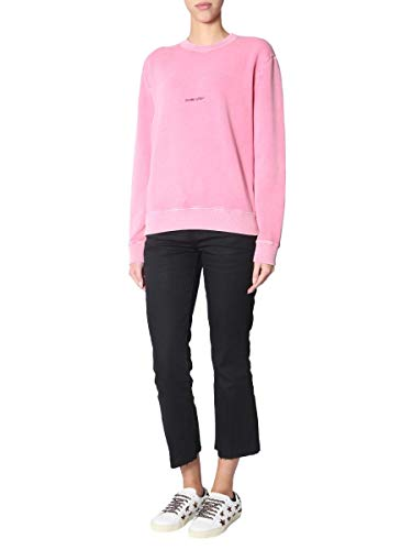 Coton Femme 557559yb2ye6469 Laurent Rose Sweatshirt Saint gA6PI6