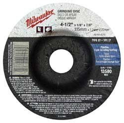 (MILWAUKEE ELECTRIC TOOL 49-94-4510 Type 27 Grinding Wheel 4-1/2