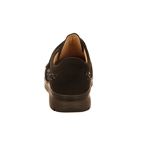Finn Comfort 03752-901654 Taglia 39 Nero (nero)