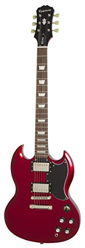 Epiphone 1961 G-400 Pro Electric Guitar, Candy Apple Red