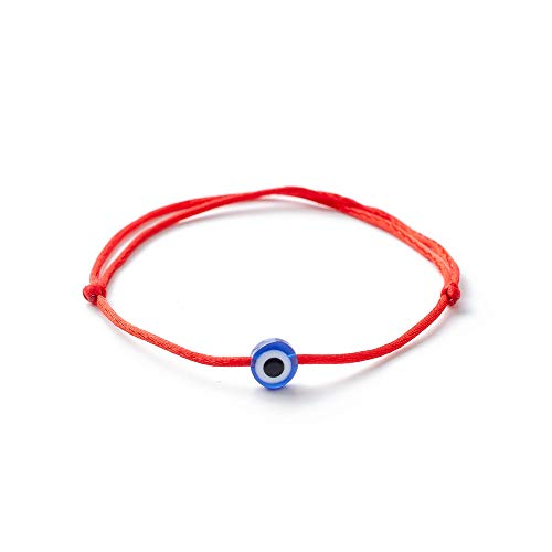 1 Piece Evil Eye Charm Handmade Kabbalah Red String for sale  Delivered anywhere in Canada