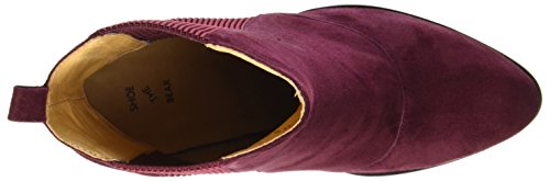 Rouge Femme S 194 Bich Bear Burgundy Bottes Shoe the 6qZwYY