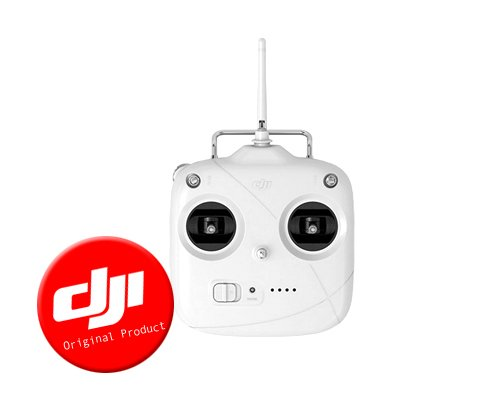 DJI Original Phantom 2 Vision+ Quadcopter Upgrade New 5.8GHz Remote Control Transmitter V3.0 with Gimbal Control Dial, Battery Level LED Indicators ( Support DJI Lightbridge)