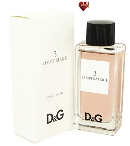 Dolcë & Gabbäna L'imperatricé 3 Perfumé For Women 3.3 oz 100 ml. Eau De Toilette Spray Free! MSH 0.04 oz Dolcë & Gabbäna