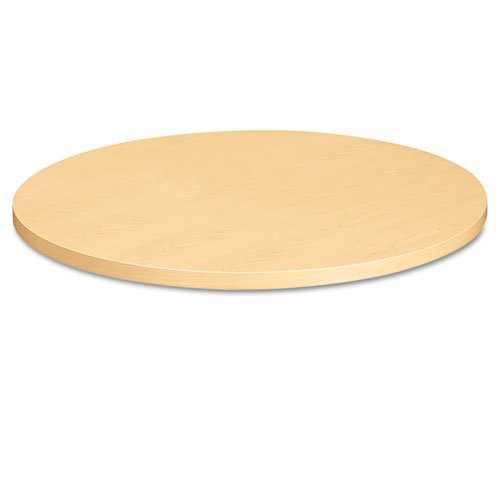 HON Round Table Top, 36-Inch Diameter, Natural Maple (Table Round Pine Top)
