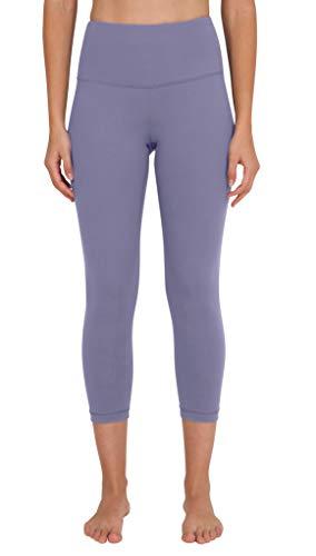 90 Degree By Reflex - High Waist Tummy Control Shapewear - Power Flex Capri - Alpine Iris - Medium