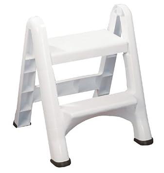 Amazon.com Rubbermaid EZ Step Folding Stool 2-Step White Home Improvement  sc 1 st  Amazon.com & Amazon.com: Rubbermaid EZ Step Folding Stool 2-Step White: Home ... islam-shia.org