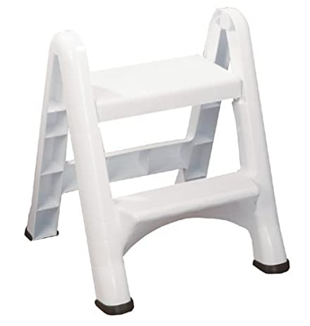 Rubbermaid FG420903WHT Folding 2-Step Step Stool  sc 1 st  Amazon.com & Amazon.com: Rubbermaid FG420903WHT Folding 2-Step Step Stool ... islam-shia.org