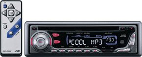 JVC In-Dash Car stereo MP3 CD Player KD-G300 Discontinued by Manufacturer