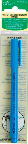 Thick Point-Blue 1 pcs sku# 644667MA (Clover Water Soluble Marker)