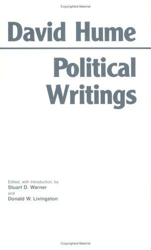 Hume: Political Writings (Hackett Classics)
