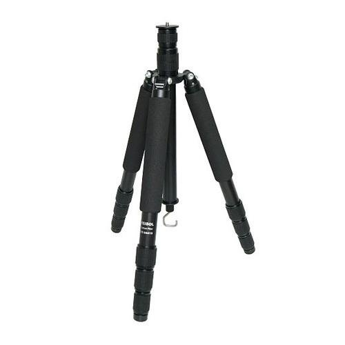 Feisol Travel CT-3441S Rapid 4-Section Carbon Traveler Tripod - Supports 44 lbs