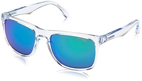 Carrera 5043/s Rectangular Sunglasses, Crystal, 20 mm