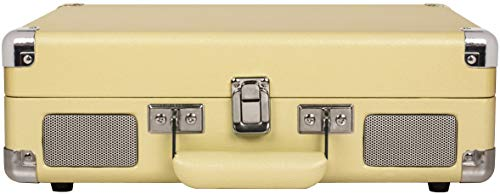 Crosley Cruiser Deluxe Vintage 3-Speed Bluetooth Suitcase Turntable, Fawn