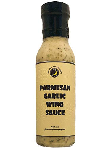 Premium | PARMESAN GARLIC Wing Sauce | Crafted in Small Batches with Farm Fresh INGREDIENTS for Premium Flavor and Zest