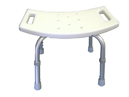 Nonslip Shower Bench Bath Saftey Stool Tub Seat by LEGEND MEDICAL - Legends Shopping Mall