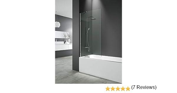 Panel fijo para bañera 150x85 cm - Modelo Screen de GME - Cristales de 8 mm con Tratamiento antical de serie (TRANSPARENTE): Amazon.es: Bricolaje y herramientas