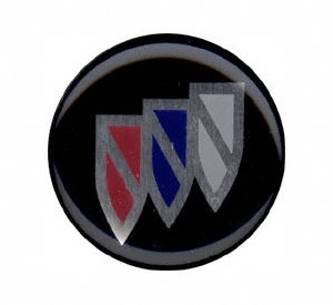 Grant 5631 Chrome Horn Button (Buick)