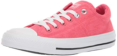 Converse Women's Chuck Taylor All Star Madison Low Top Sneaker, Strawberry jam White, 6 M US