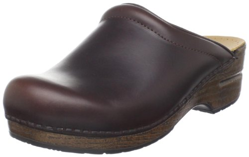 Dansko Women's Sonja Oiled Full Grain Clog,Espresso,38 EU/7.5-8 M US ()